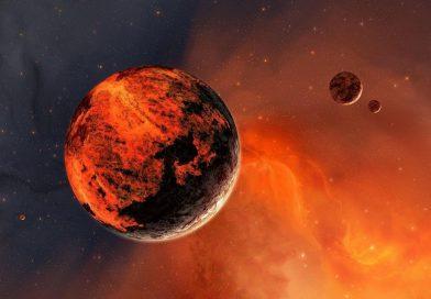 Mars sel felaketleriyle şekillendi.